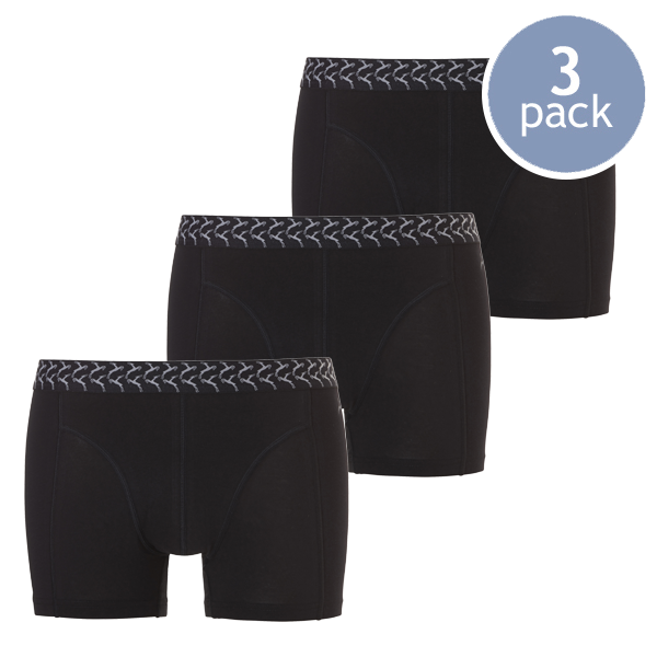 Ten Cate Boxershorts - Sort - 3-Pack (1)