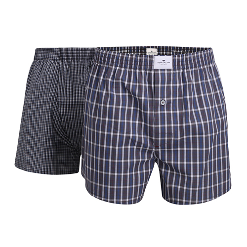 Boxershorts Tom Tailor - 2 Pack - Multi mørkeblå (1)
