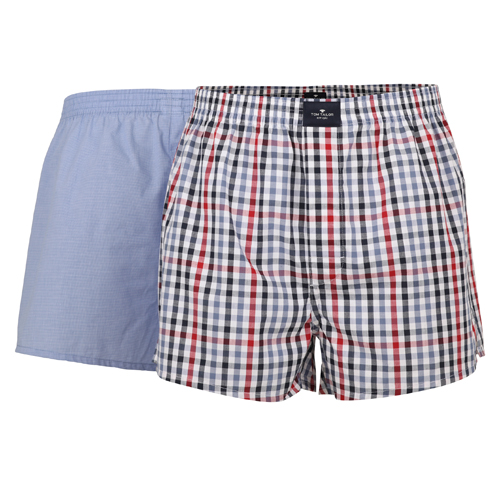Boxershorts Tom Tailor - 2 Pack - Multi Lyseblå (1)
